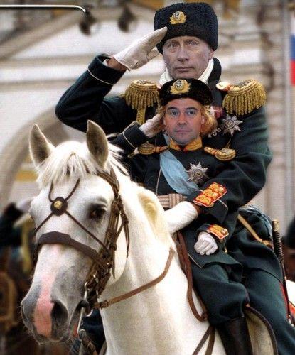 Путин и медведев, операция приемник.