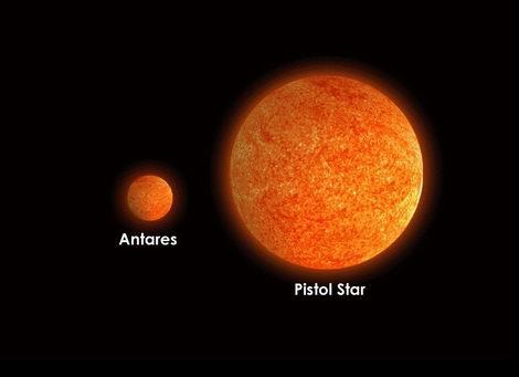 Антарес, Пистол