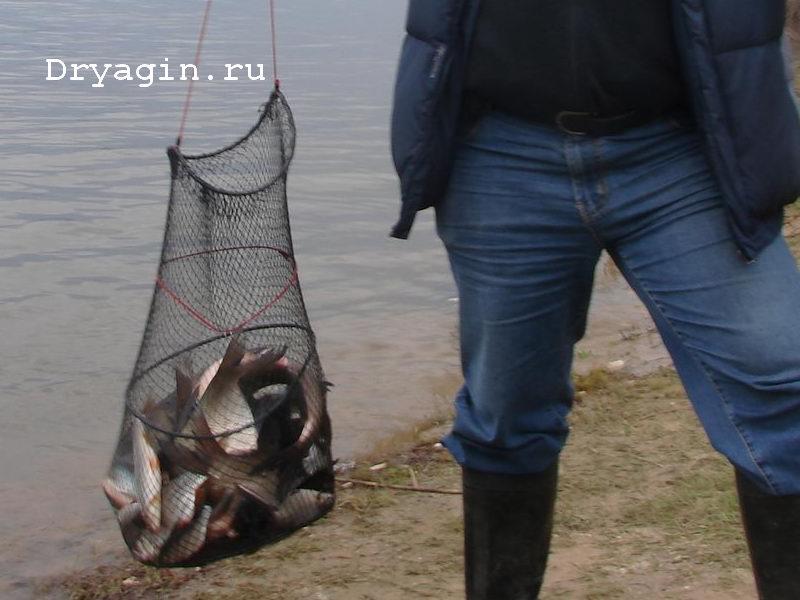 Садок с уловом